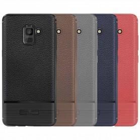 Rugged Armor TPU skal Samsung Galaxy A8 Plus 2018 mobilskal