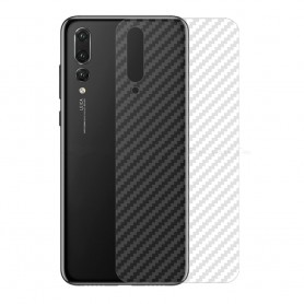 Karbonfiber hudbeskyttende plast Huawei P20 Pro Mobile Caseonline