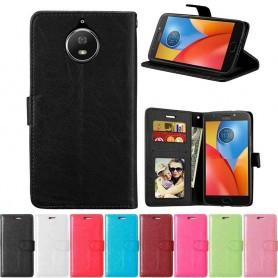 Mobilplånbok 3-kort Motorola Moto G5S Plus XT1805 mobilskal fodral