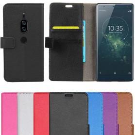 Mobil lommebok 2-kort Sony Xperia XZ2 Premium mobilveske