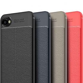 Läder mönstrat TPU skal HTC Desire 12 mobilskal