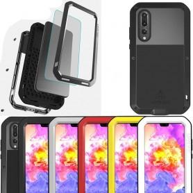 LOVE MEI Powerful Huawei P20 Pro CLT-L29 mobilskal skydd stål CaseOnline