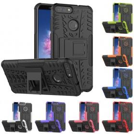 Stöttåligt skal med ställ Huawei P Smart mobilskal silikon CaseOnline.se