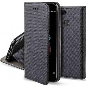 Moozy Smart Magnet FlipCase Xiaomi Mi A1 mobilskal skydd fodral