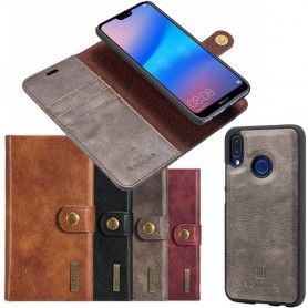 Mobilplånbok Magnetisk DG Ming Huawei P20 Lite avtagbart mobilskal