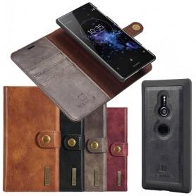 Mobil lommebok Magnetisk DG Ming Sony Xperia XZ2 mobiltelefon veske