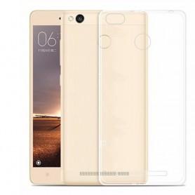 Xiaomi Redmi 3 Silikon skal Transparent mobilskal