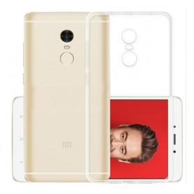 Xiaomi Redmi Note 4 Silikon skal Transparent mobilskal