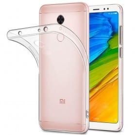 Xiaomi Redmi Note 5 Silikon skal Transparent mobilskal