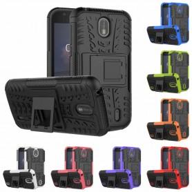 Stöttåligt skal med ställ Nokia 1 mobilskal skydd caseonline