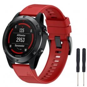 Sport Armband Garmin Fenix 5 / Forerunner 935-Röd