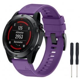 Sport Armband Garmin Fenix 5 / Forerunner 935-Lila