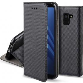 Moozy Smart Magnet FlipCase Samsung Galaxy A8 2018 mobilskall
