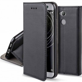 Moozy Smart Magnet FlipCase Sony Xperia XA2 mobilskal