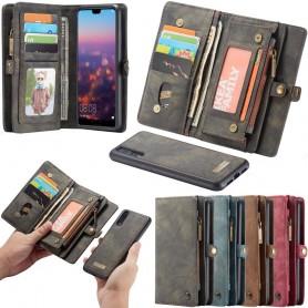 Multi Wallet 11 -kortti Huawei P20 kannettava kotelo Caseme Caseonline