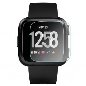 Fitbit Versa displayskydd härdat glas skärmskydd