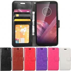 Mobilplånbok 3-kort Motorola Moto Z3 Play mobilskal