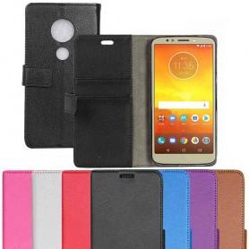Mobil lommebok 2-kort Motorola Moto E5 leketui caseonline