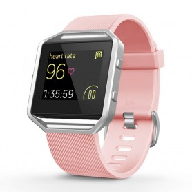 Sport Armband till Fitbit Blaze - Ljusrosa