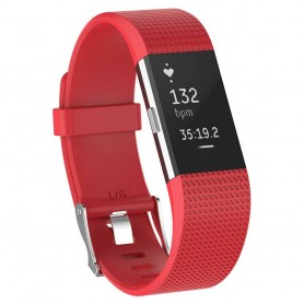 Sport Armband till Fitbit Charge 2 - Röd