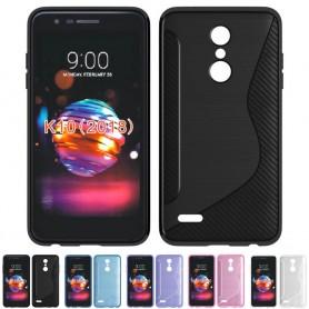 S Line silikon skal LG K9 2018 mobilskal