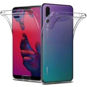 360 heltäckande silikon skal Huawei P20 mobilskal