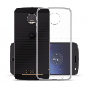 Motorola Moto Z3 Play Silikon skal Transparent