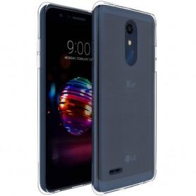 LG K11 2018 silikonetui Gjennomsiktig mobil beskyttelse mot skall