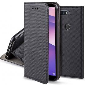 Moozy Smart Magnet FlipCase Huawei Y7 2018 mobilskal