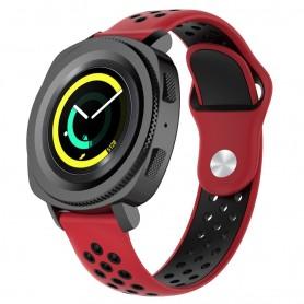 EBN Sport Armband Samsung Gear Sport - röd/svart