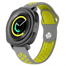EBN Sport Armband Samsung Gear Sport - grå/gul