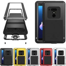 LOVE MEI Powerful HTC U12 Plus mobilskal stål skydd