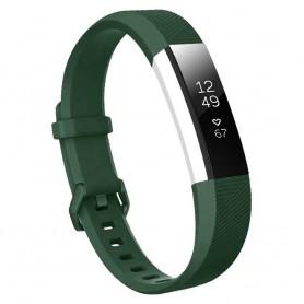 Sport Armband till Fitbit Alta HR - Mörkgrön