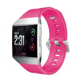 Sport Armband Fitbit Ionic Mörkrosa S