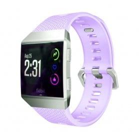 Sport Armbånd Fitbit Ionic Lys Lilla S