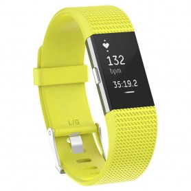 Sport Armband till Fitbit Charge 2 - Gul
