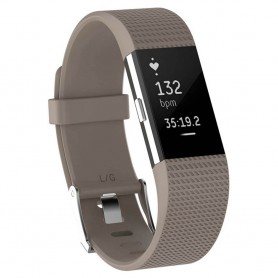 Sport Armband till Fitbit Charge 2 - Beige