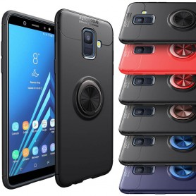 Slim Ring Case Samsung Galaxy A6 2018 selfiering mobile shell protection