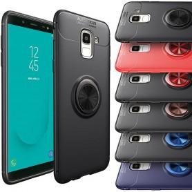 Slim Ring Case Samsung Galaxy J6 2018 mobilskal selfiering