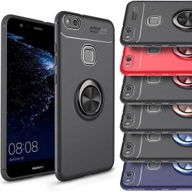 Slim Ring Case Huawei P10 Lite Mobile Shell Selfie