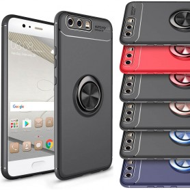 Slim Ring Case Huawei P10 Plus mobil shellfingerring