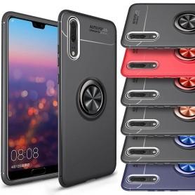 Slim Ring Case Huawei P20 mobilskal selfiering bilhållare