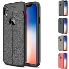 """Lærmønstret TPU mobil deksel Apple iPhone XR (6,1 """")"""