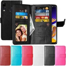 Dobbelt flip Flexi 9-kort Asus Zenfone 5 / 5Z mobil deksel