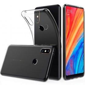 Xiaomi Mi Mix 2S Silikon skal Transparent mobilskal