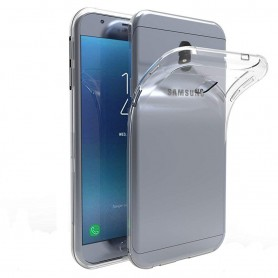 Samsung Galaxy J7 2018 Silikon skal Transparent mobilskal