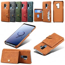 Vintage Flipwallet 3-kort Samsung Galaxy S9 Plus mobilfodral