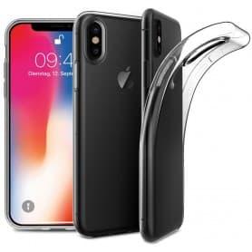 Apple iPhone X Silikonetui Gjennomsiktig Mobil Veske Beskytt CaseOnline