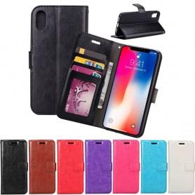 Mobilplånbok 3-kort Apple iPhone XR ställ sedel silikon ram CaseOnline