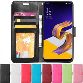 Mobil lommebok 3-kort Asus Zenfone 5 ZE620KL mobil deksel